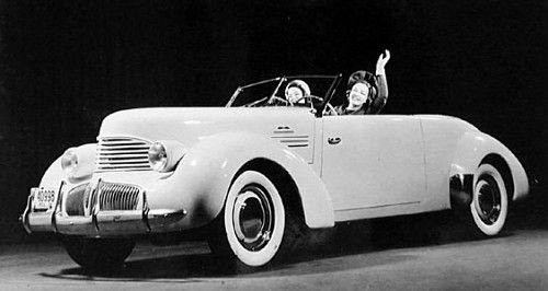 Hupmobile Skylark. When Cord went out of business, the 810/812 ...