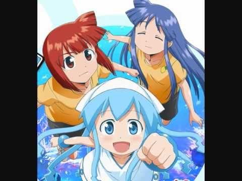 Squid Girl Ending Song Squid Girl Anime Anime Lovers