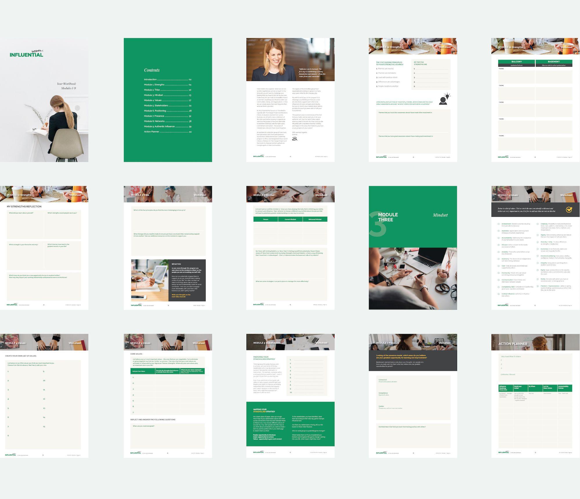 Influential Women Worksheets Design For Online Digital