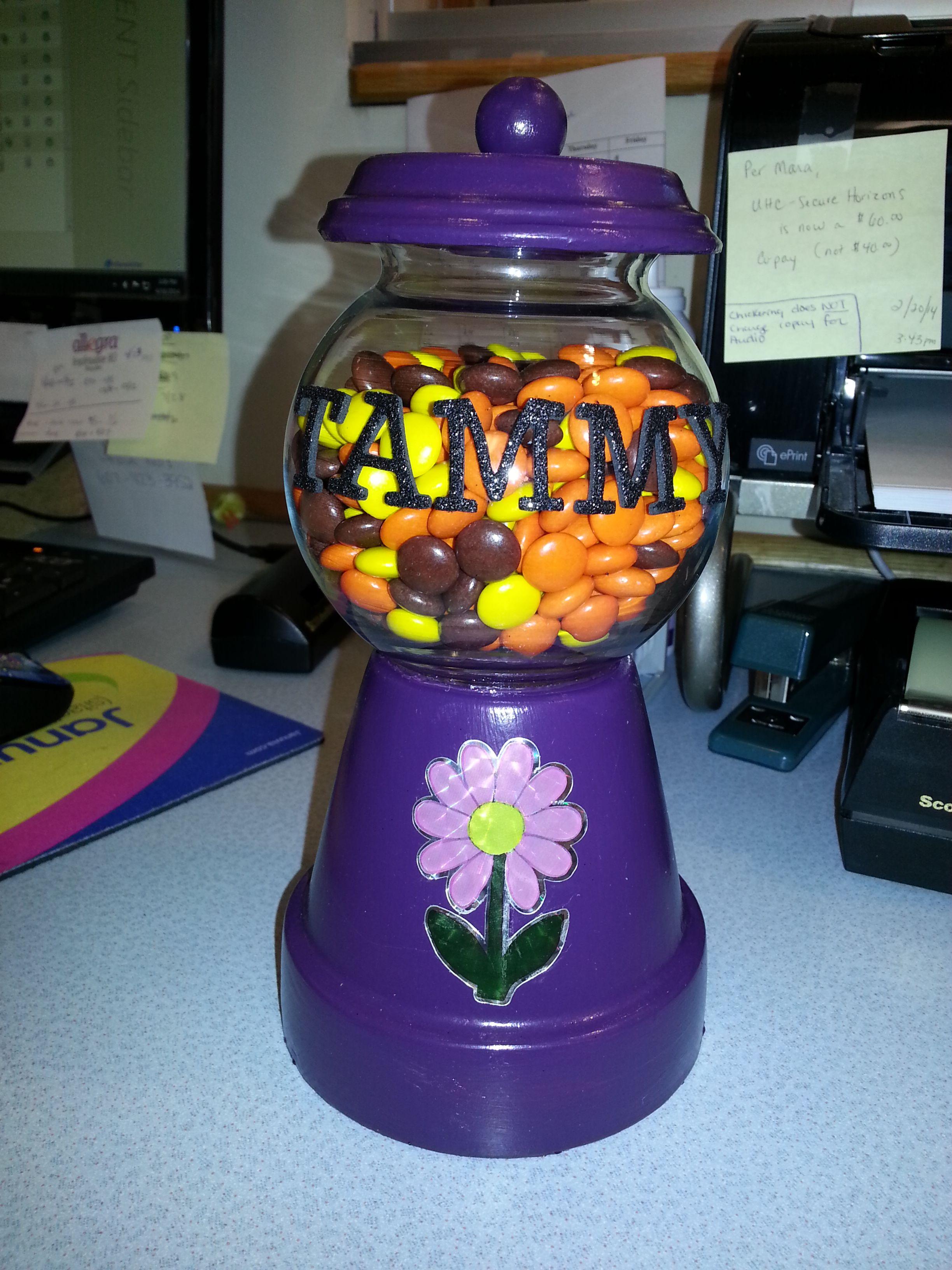 fb42be83 Savings Jar Craft Ideas Gumball Machine - Year of Clean Water