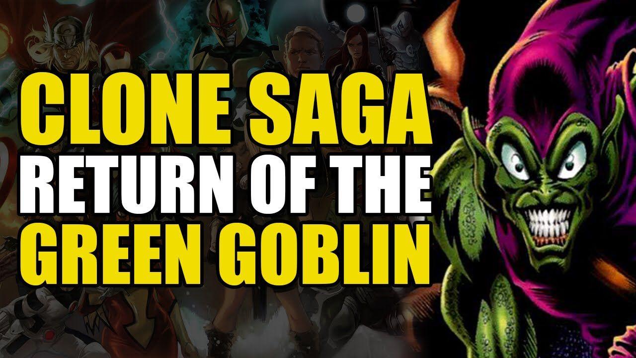The Return of The Green Goblin (Spider-Man Clone Saga: Conclusion