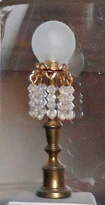 Parlor Lamp With Choice Of Shade Rsr50x 42 99 Miniature Designs Full Service Dollhouse Miniature Shop In Georgia Lamp How To Make Light Design