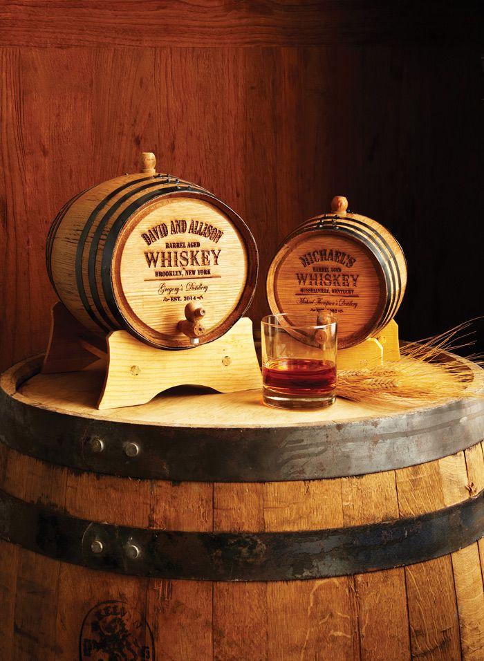Personalized Whiskey Barrel Mini Oak Personalized