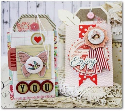 Emma's Paperie: February Color Challenge by Melissa Phillips