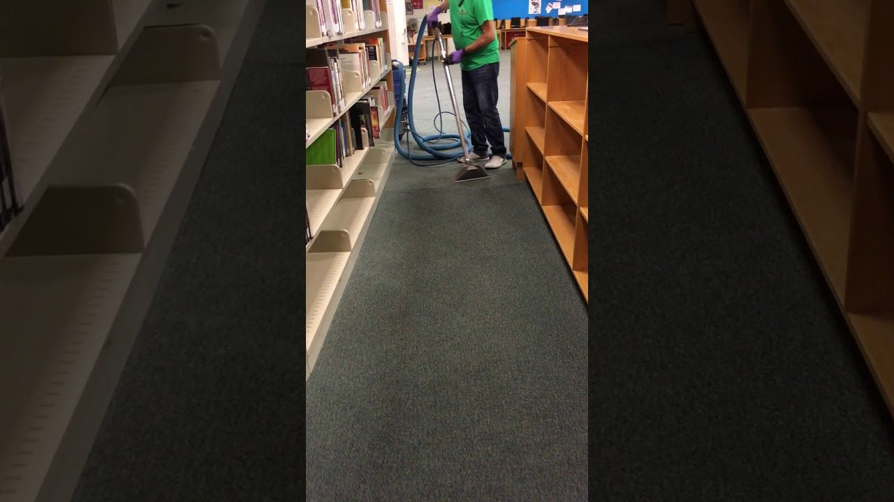 Carpet cleaning services after water damage restoration in