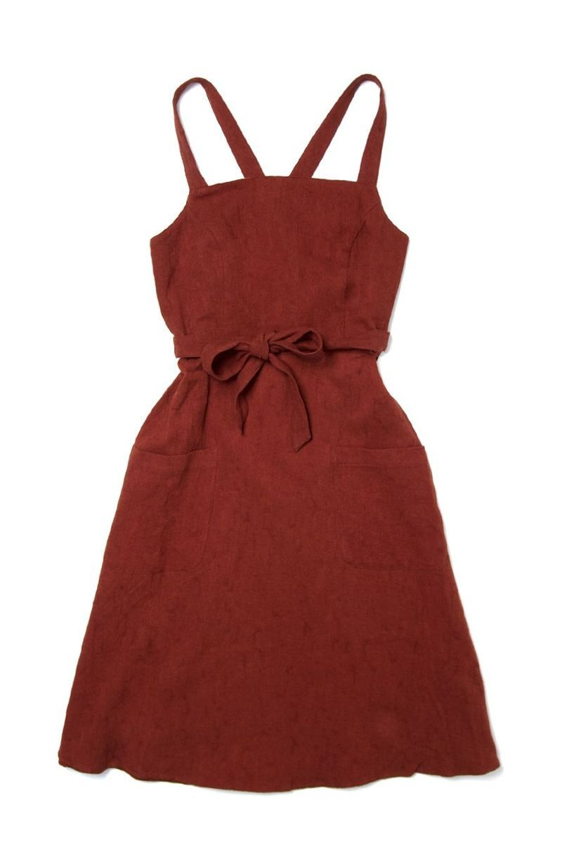 Claire clay red jumper dress clay and wrap dresses