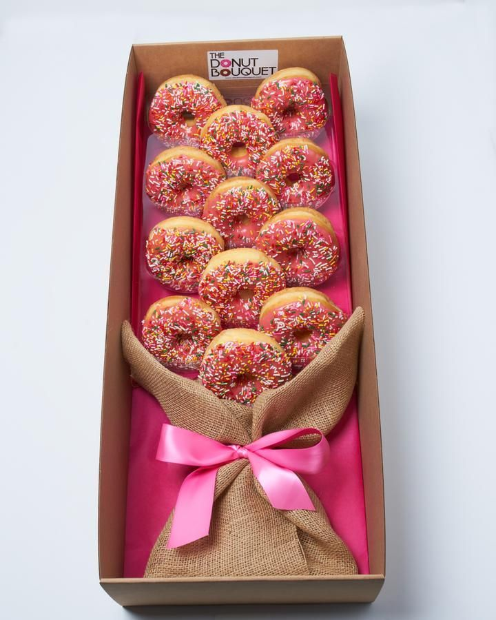 Donut bouquet las vegas donuts is the perfect gift for