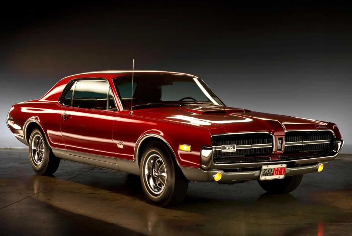 1968 mercury cougar gt e 7 liter coupe rarest muscle cars from america s fastest decade