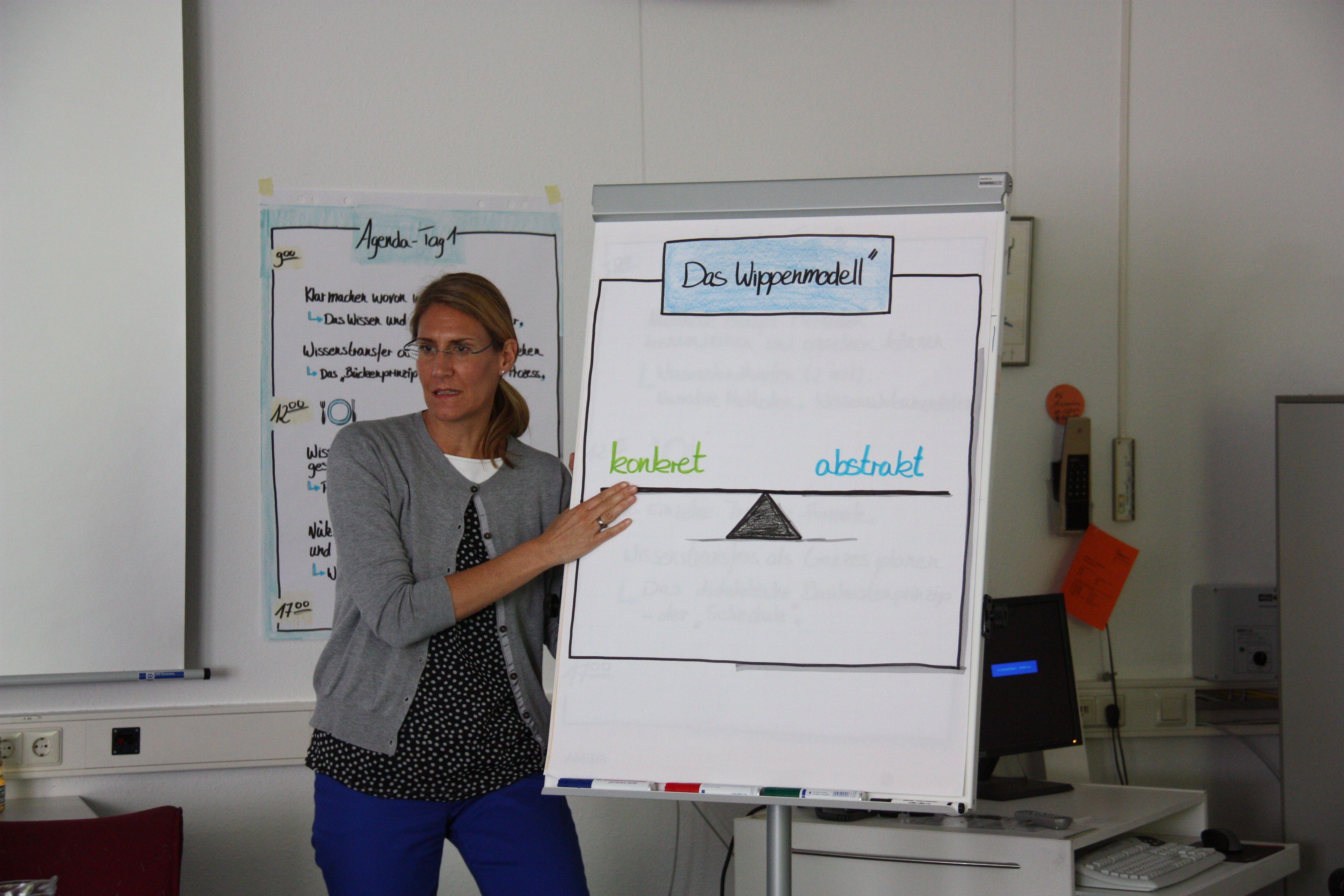 Das Wippenmodell zur Wissensdokumentation -