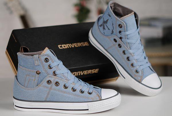 9d0900120705 2013 New Converse Fashion ox Retro Light Blue Denim All Star Chucks ...600  x 405
