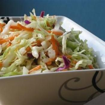 Amish Slaw...now this really sounds delicious and the taste I like....
