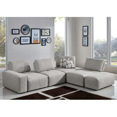 Plymouth Fabric Modular Sectional Http Sectionalsofaspot Com 699533848