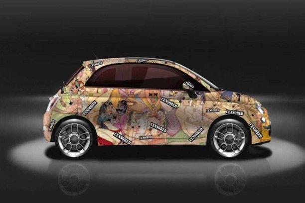 Fiat 500 Kar-masutra : une 500 très hot !