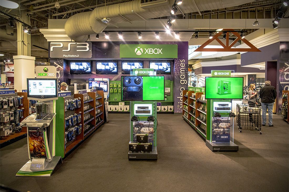 Nebraska Furniture Mart   Flagship Stores   Xbox One Redesign   Retail  Design   Merchandising // ImagiCorps | Ideation | Design | Engineering |  Fabu2026
