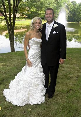 Ashley Harlan and Ben Roethlisberger at Their Wedding 2011 Famous