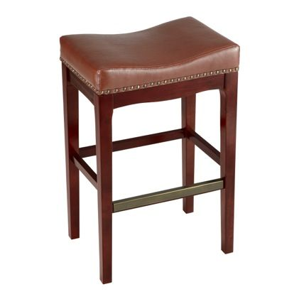 Our Griffin Bar Stool With Its Saddle Seat Is Contoured