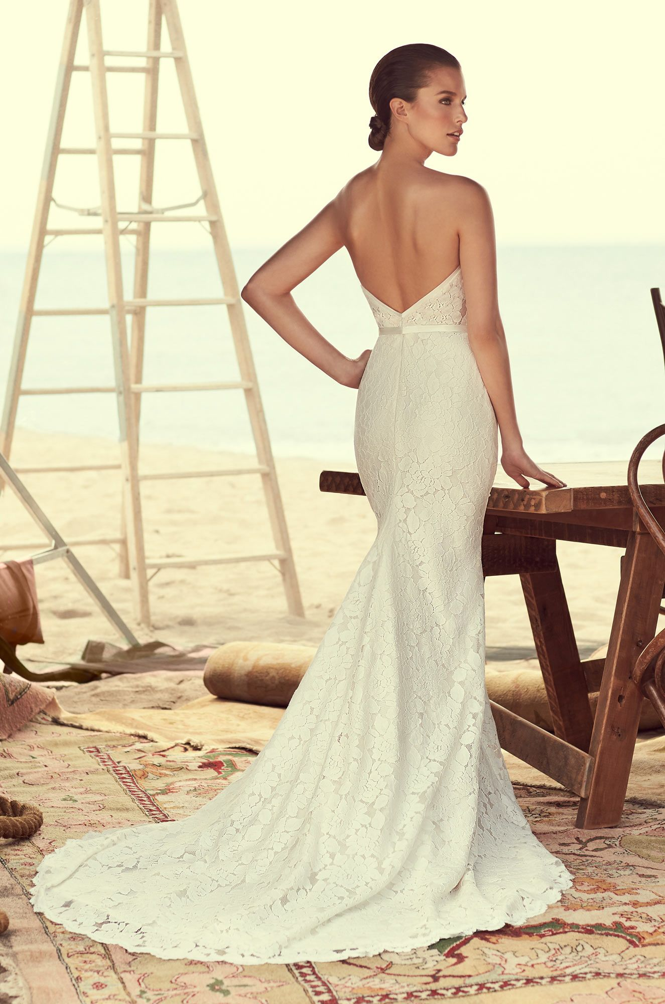 Modified Sweetheart Wedding Dress Style 2182 Mikaella Bridal