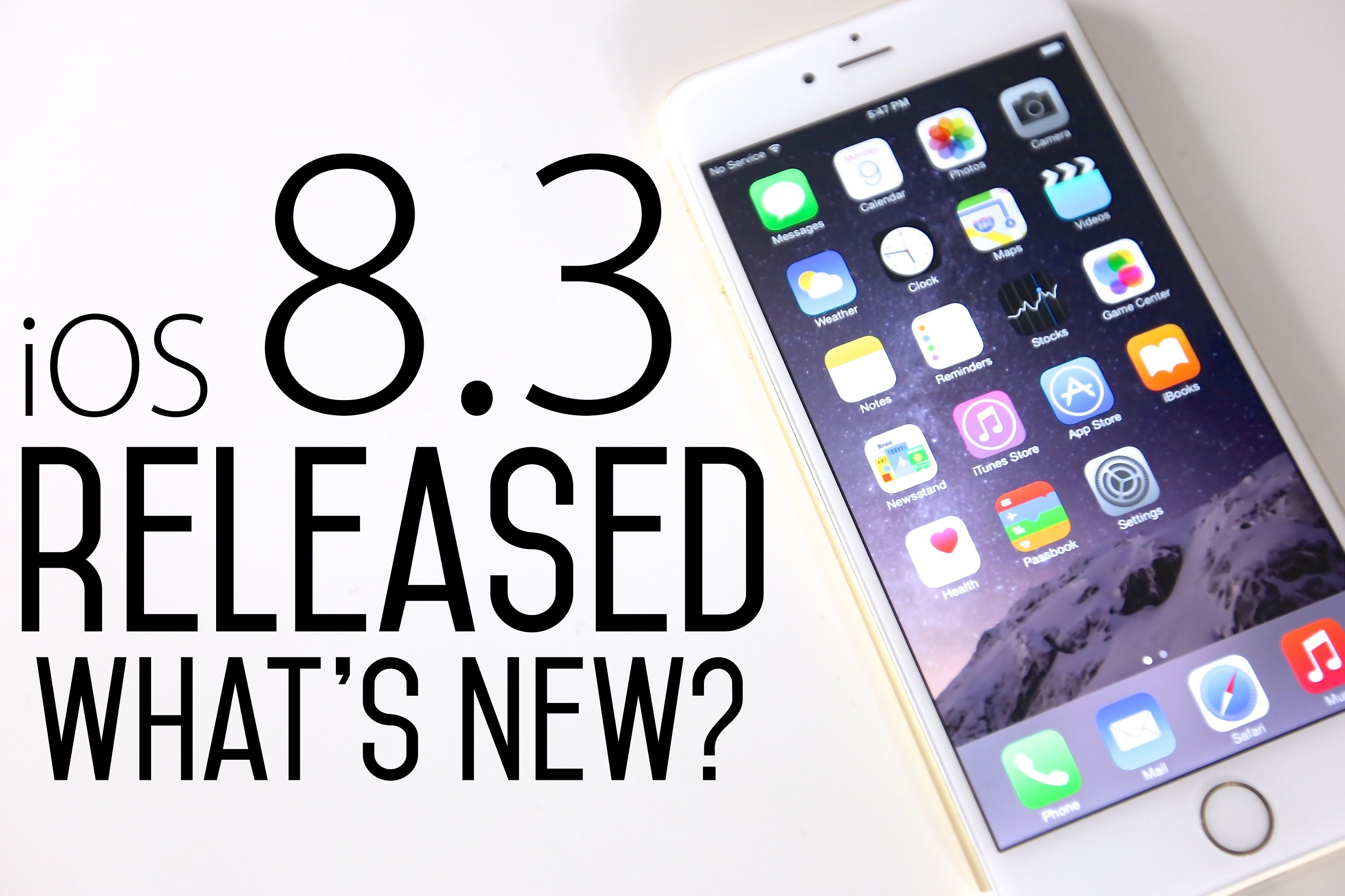 Apple Unleashes Ios 8 3 Update For Iphone And Ipad Including New Emoji On The Emoji Front Is An Updated Menu That Makes It Easier To Ios 8 Ios Update Iphone