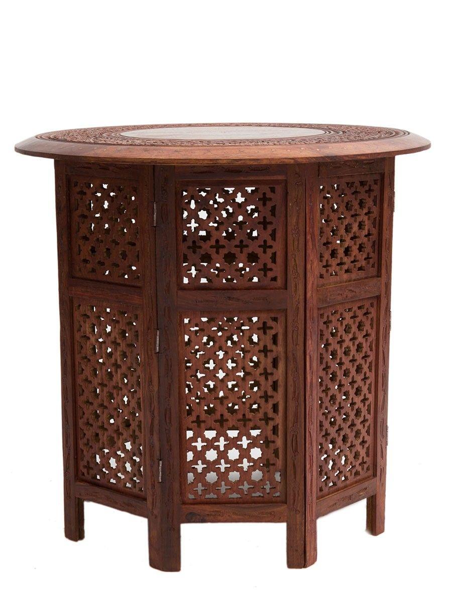 Moroccan Furniture Furnishings Moroccan Bazaar Round Wood Coffee Table Moroccan Furniture Wood Table [ 1200 x 900 Pixel ]