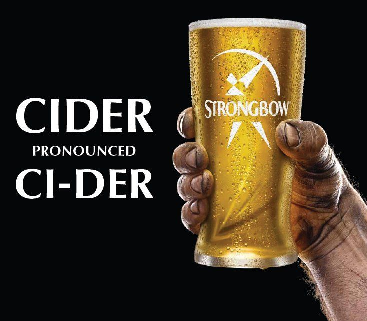 Strongbow Cider Full Size Only second to Stella Artois