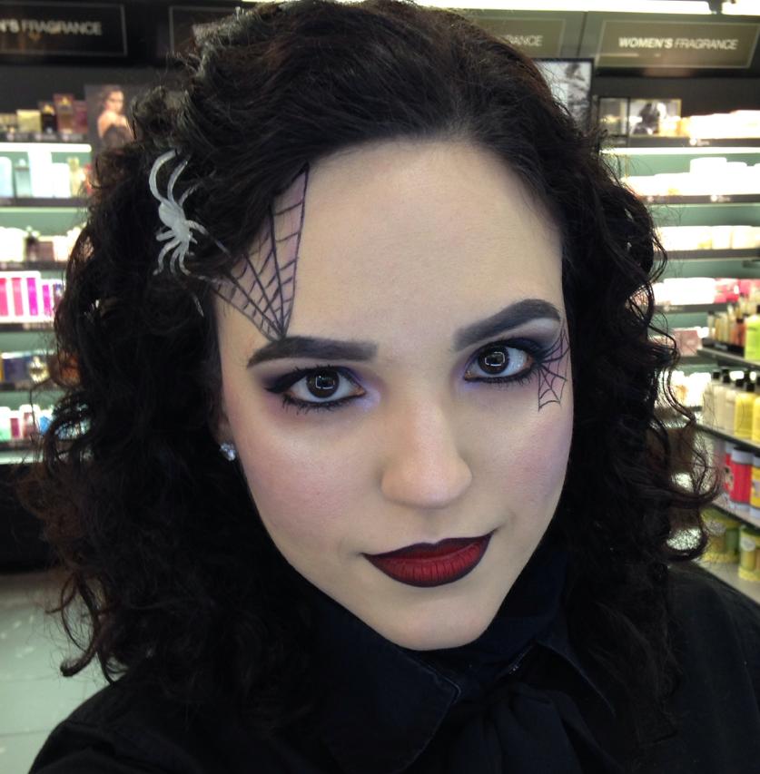 Araign e dans les cheveux halloween pinterest araign es les cheveux et cheveux - Maquillage halloween araignee ...