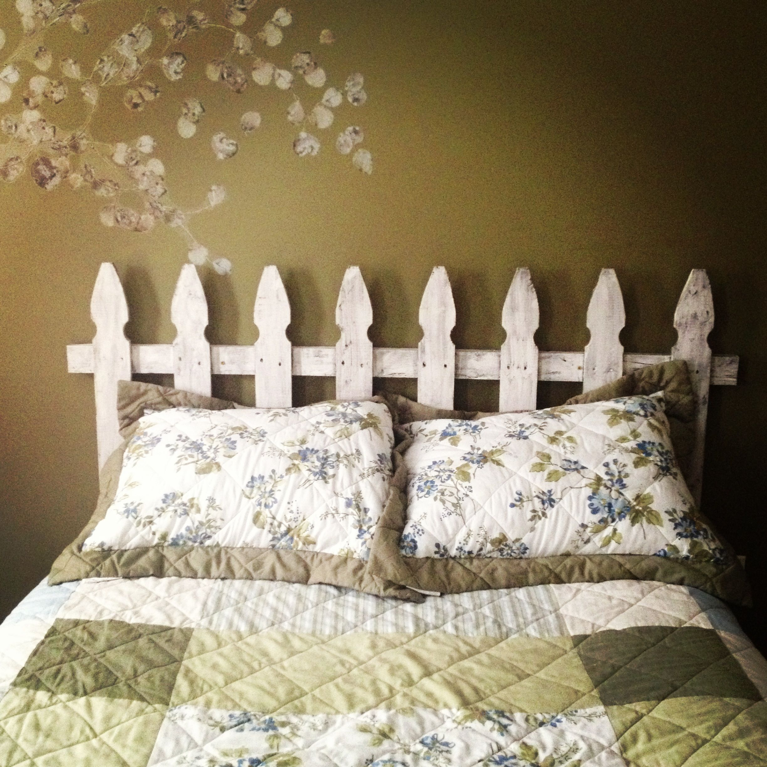 Picket Fence Headboard Fence Headboard Headboard Decor Picket