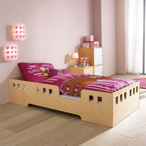 kinder bett rudi natur room. Black Bedroom Furniture Sets. Home Design Ideas