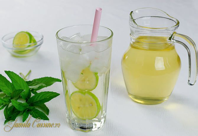 Ricetta Mojito Brocca.Sirop De Menta Cu Lamie Reteta Video Recipe Lemonade Lemonade Recipes Just Juice