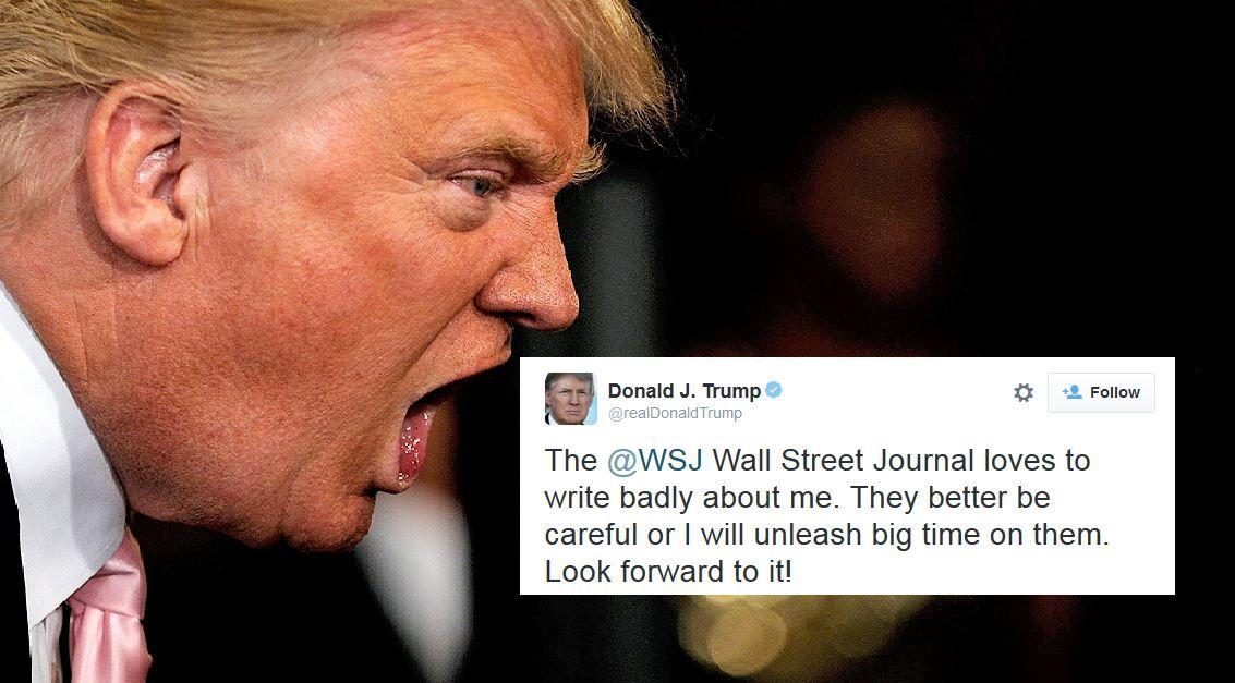 Trump Issues Warning To Wall Street Journal Joe My God Trump Lies Trump Trump Memes