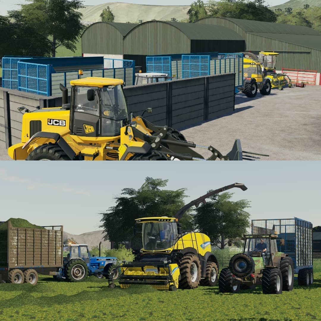 "Farm Sim Pics on Instagram: ""Silage crew  ~ ~ ~ Don't forget"