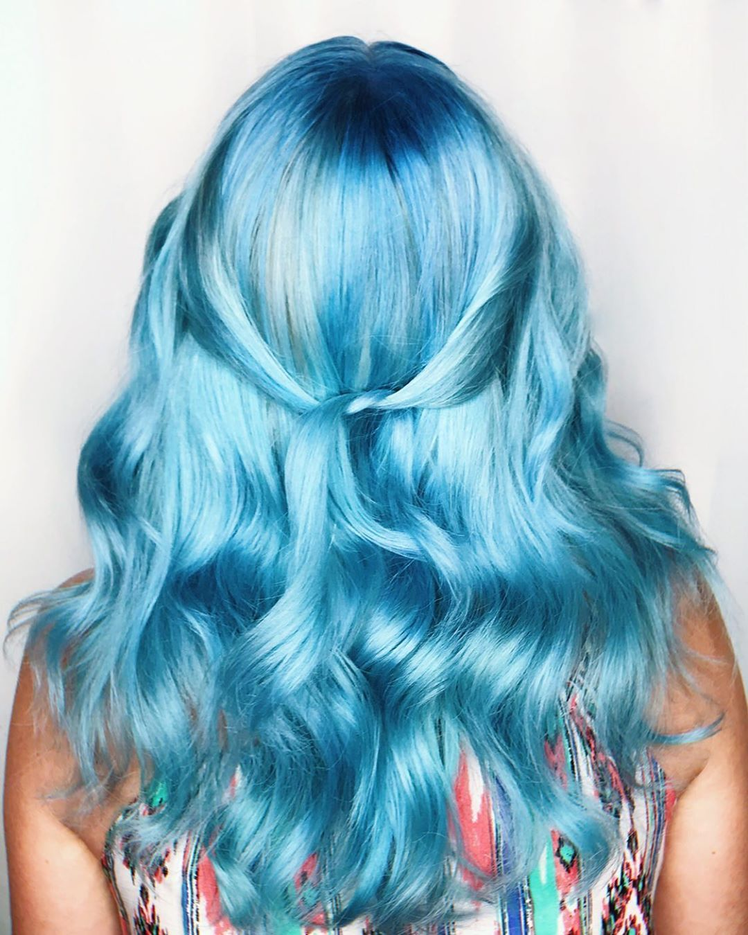 Gorgeous Icy Blue Waves By Maggietorials Try Our Blue Ombre Kit