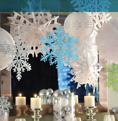 Winter Wonderland Themed Party Decorations  from i.pinimg.com