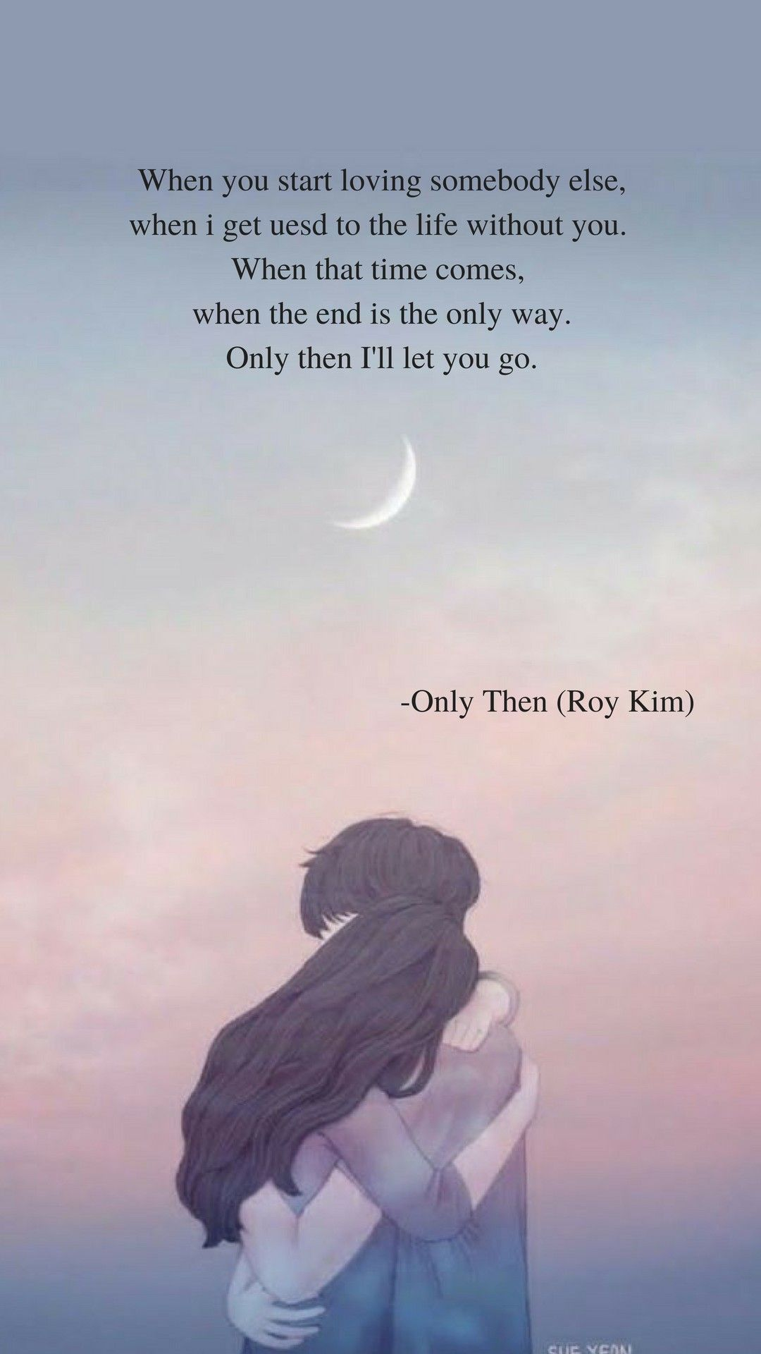 Only Then by Roy Kim Lyrics wallpaper kookie did a cover on