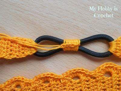 venda-tejida-a-crochet-paso-a-paso-17 | Gmv | Pinterest | Ganchillo ...