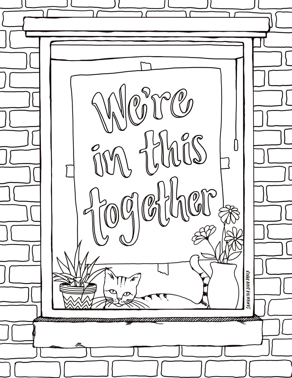 Free Coloring Pages for Adults and Kids Skillshare in