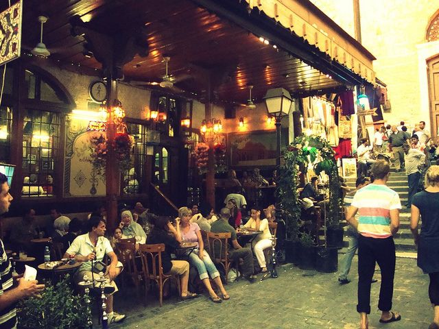 Al Nofara Cafe Damascus