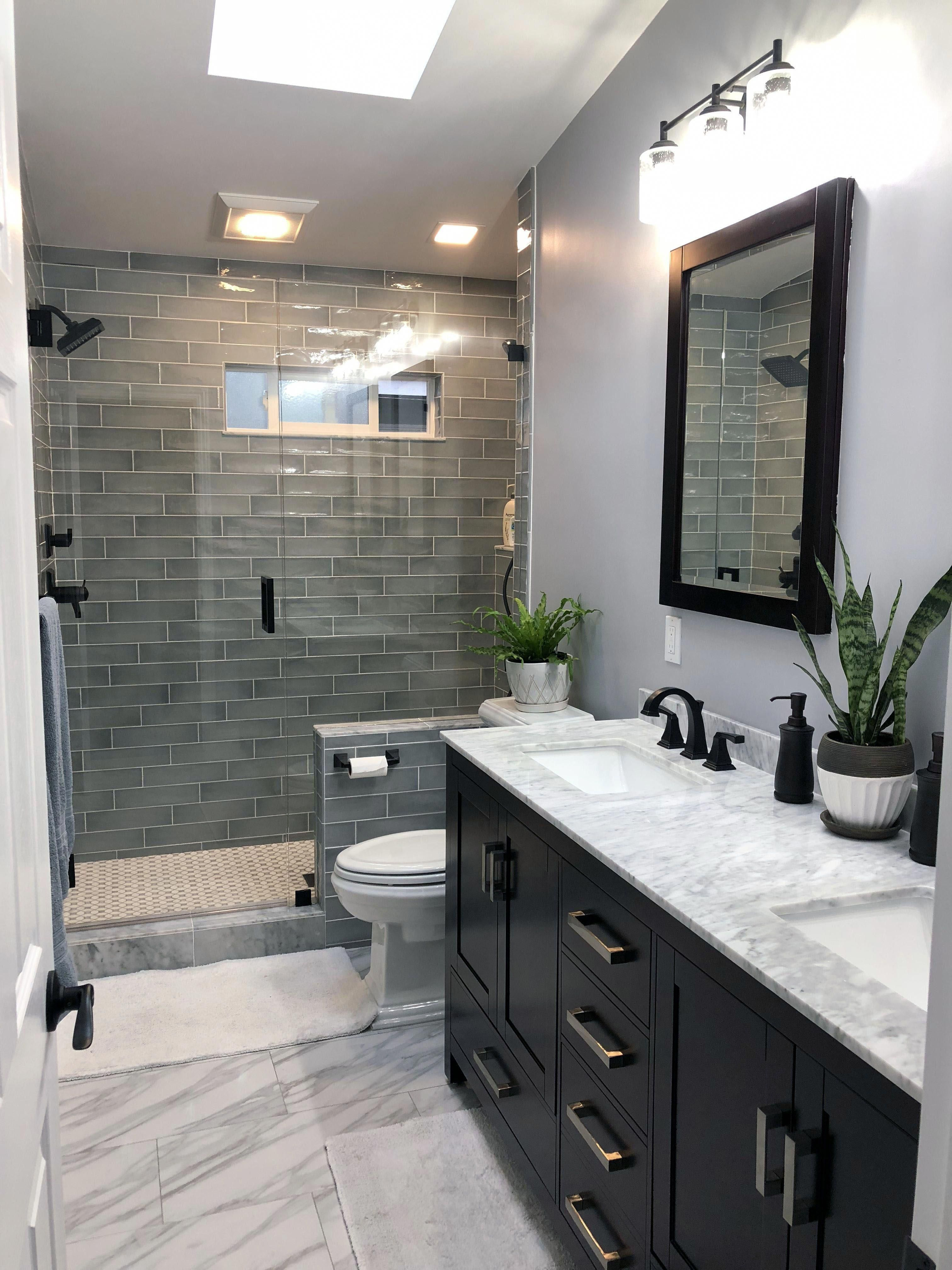 As Mentioned Above Light Colors Help Brighten Up A Space White Being One Of The Lightest Small Bathroom Remodel Bathroom Tile Designs Bathroom Remodel Master