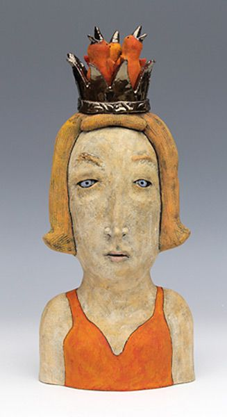 Sara Swink | clay sculpture