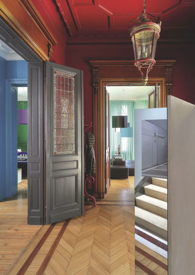 Maison d\u0027artiste Grand designs, Lobbies and Venetian - photo hall d entree maison