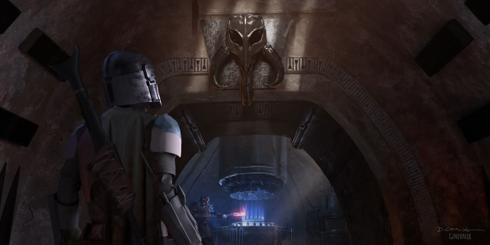 This Is The Way To Some Gorgeous New Mandalorian Concept Art Mandalorian Concept Art Star Wars Wallpaper
