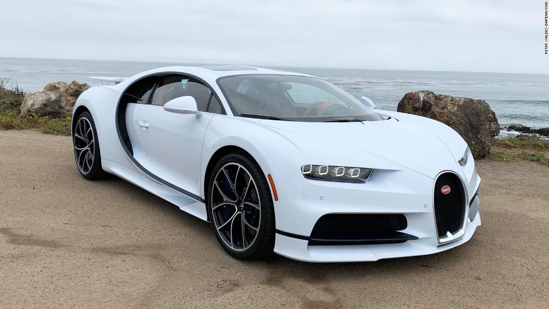 Straßenfahrt in einem Bugatti im Wert von 3 Millionen US-Dollar   – Current News