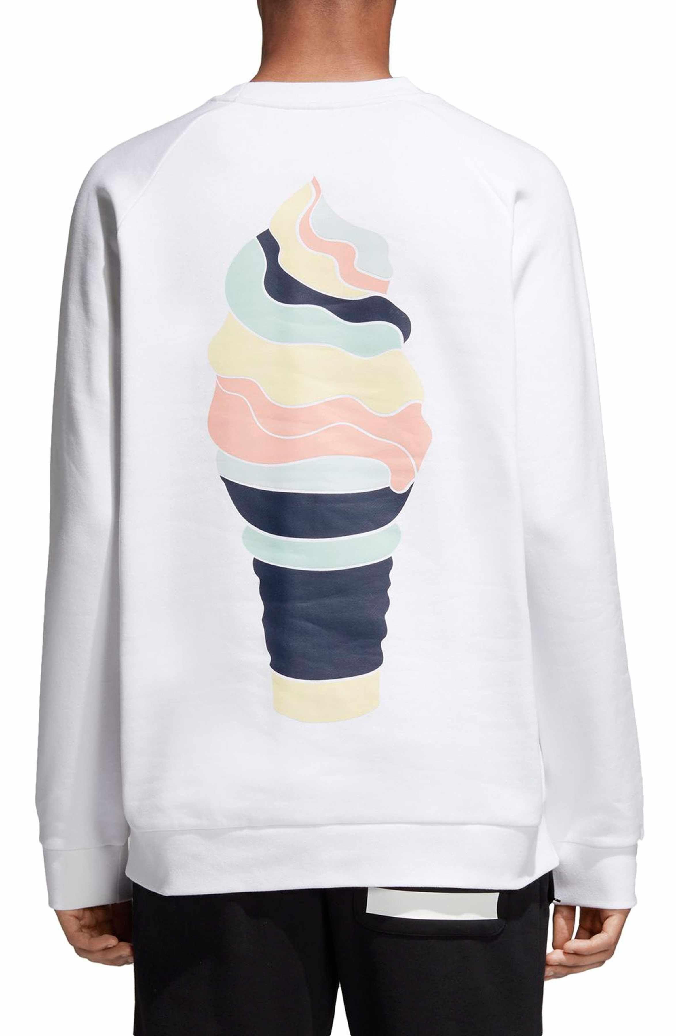 Adidas Originals Ice Cream Sweatshirt Nordstrom Sweatshirts Sweatshirt Fleece Adidas Originals [ 3600 x 2348 Pixel ]