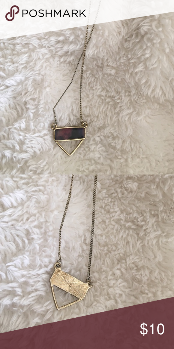 Galaxy Necklace Gold plated trend necklace. Urban Outfitters Jewelry Necklaces