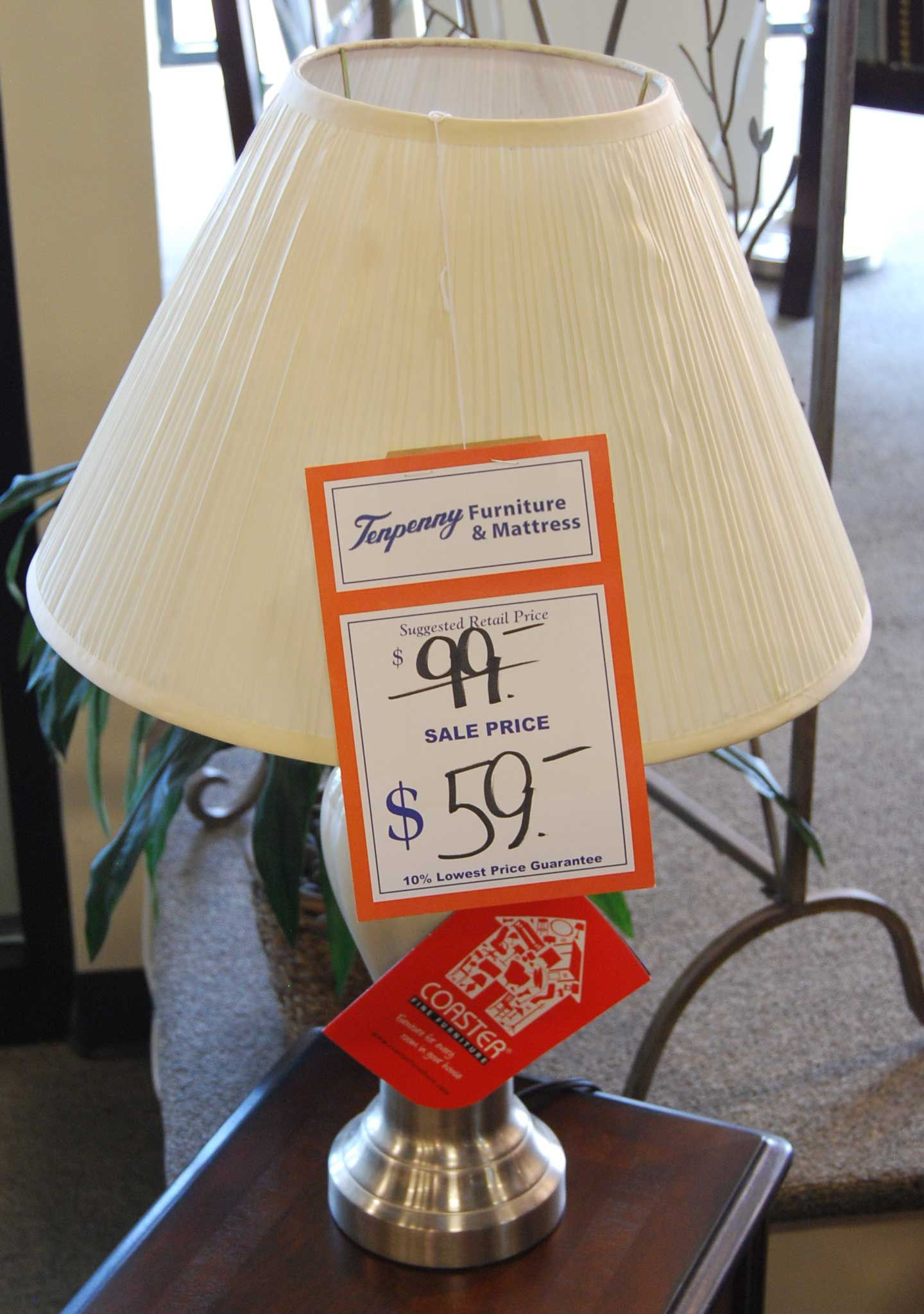 Lighting currently in store! www.tenpennyfurniture.com