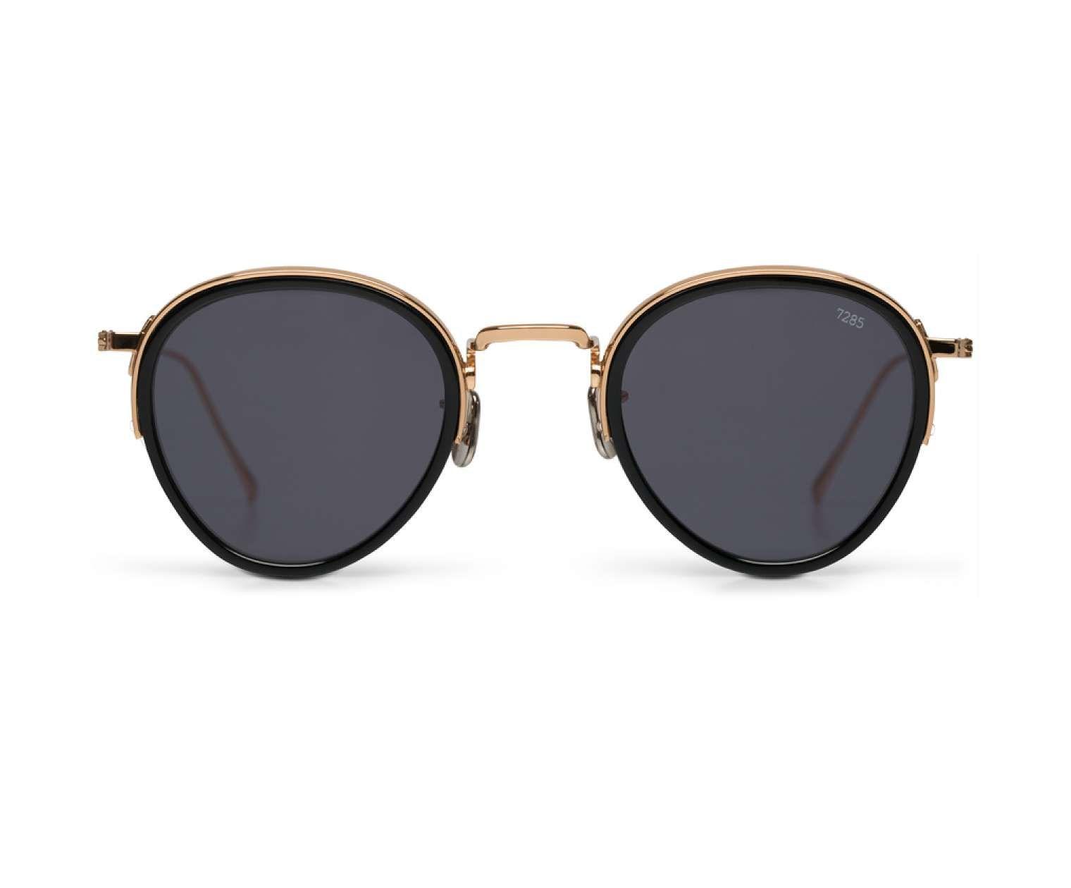 Eyevan 7285 Model 732 Black Sunglasses