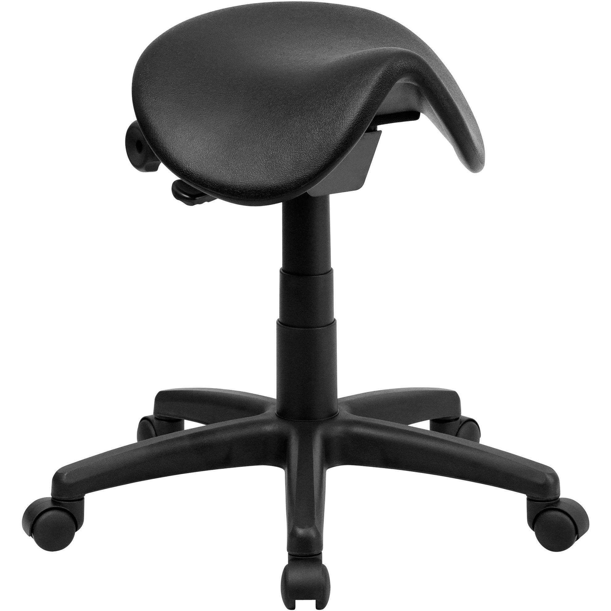 Sit Healthier Backless Ergonomic Saddle Stool For Office And Medical