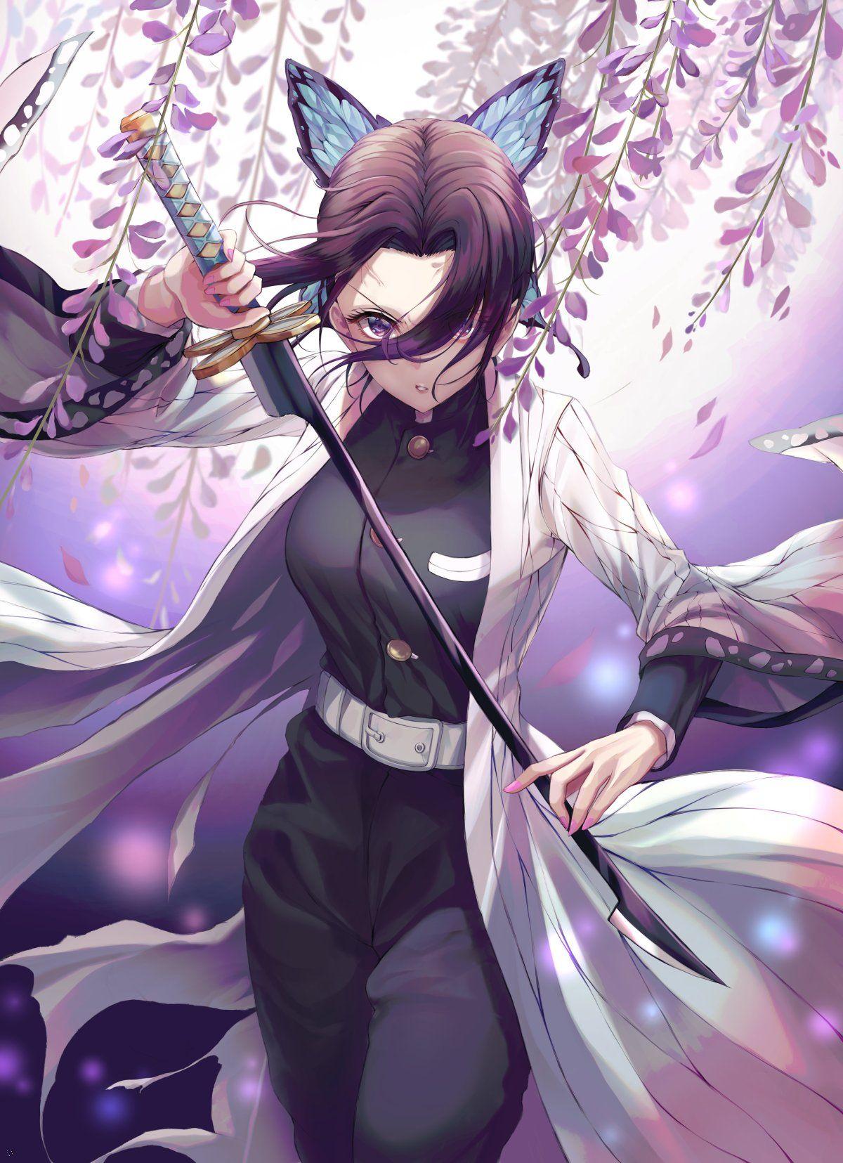 Shinobu Demon Slayer By Csc00014 Anime Wallpaper Download Anime Wallpaper Android Wallpaper Anime Demon anime wallpaper for android
