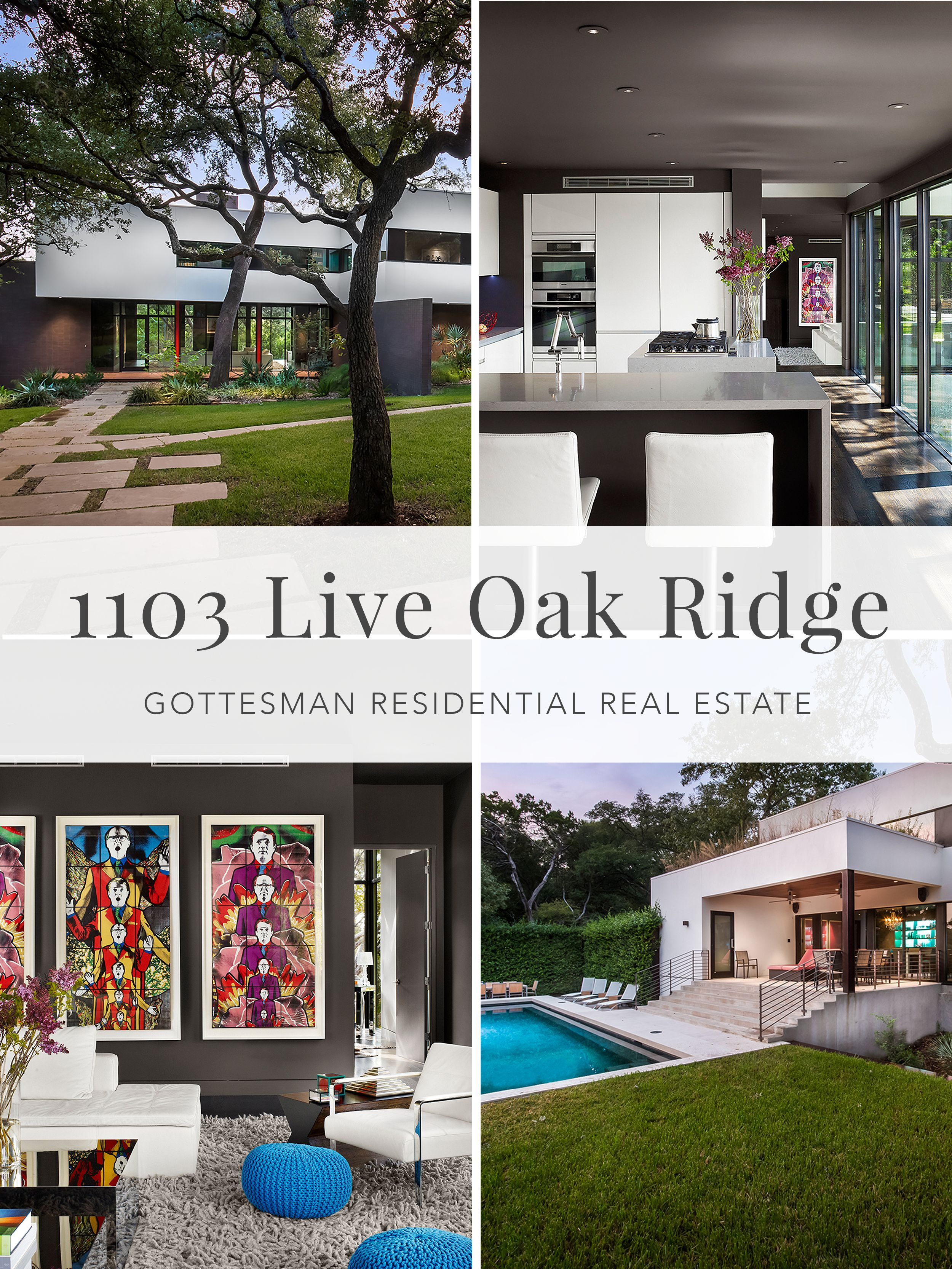 1103 Live Oak Ridge Gottesman Residential Real Estate Built In 2009 The Exquisite Custom Home Heart Of Westlake Hills Was Brilliantly Created By