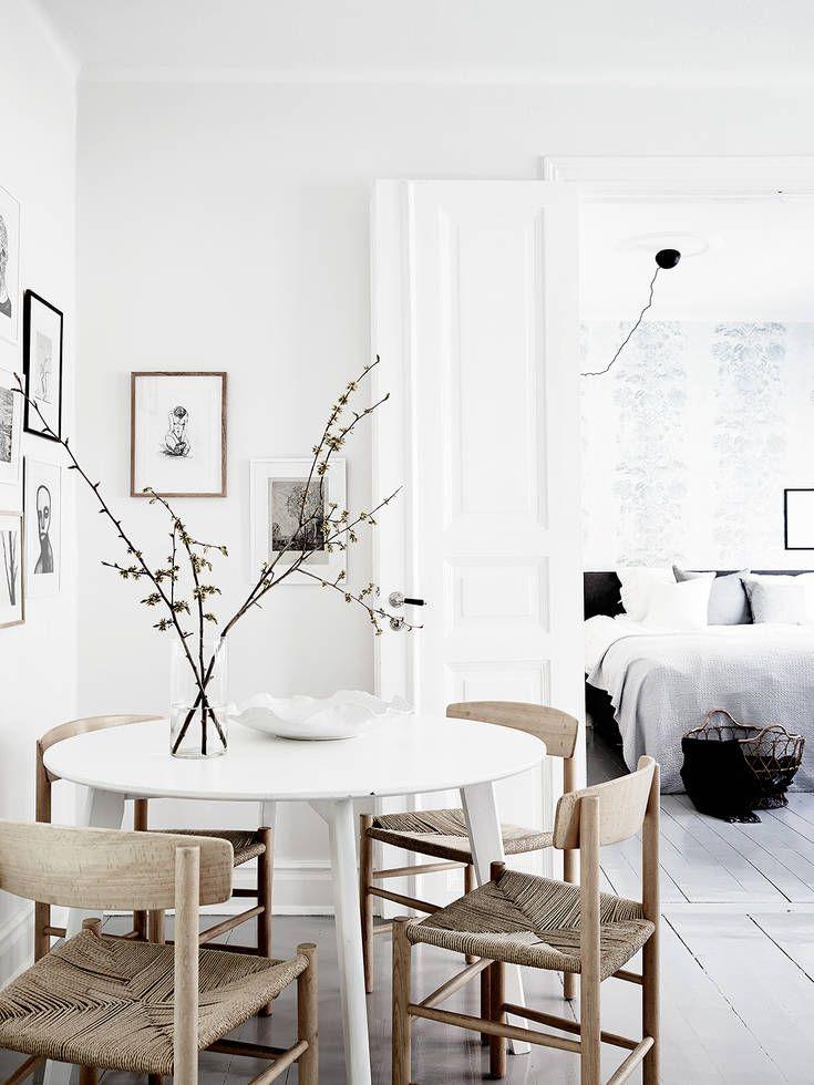 Bright home with a soft look | Pinterest | Comedores, Estilo nórdico ...