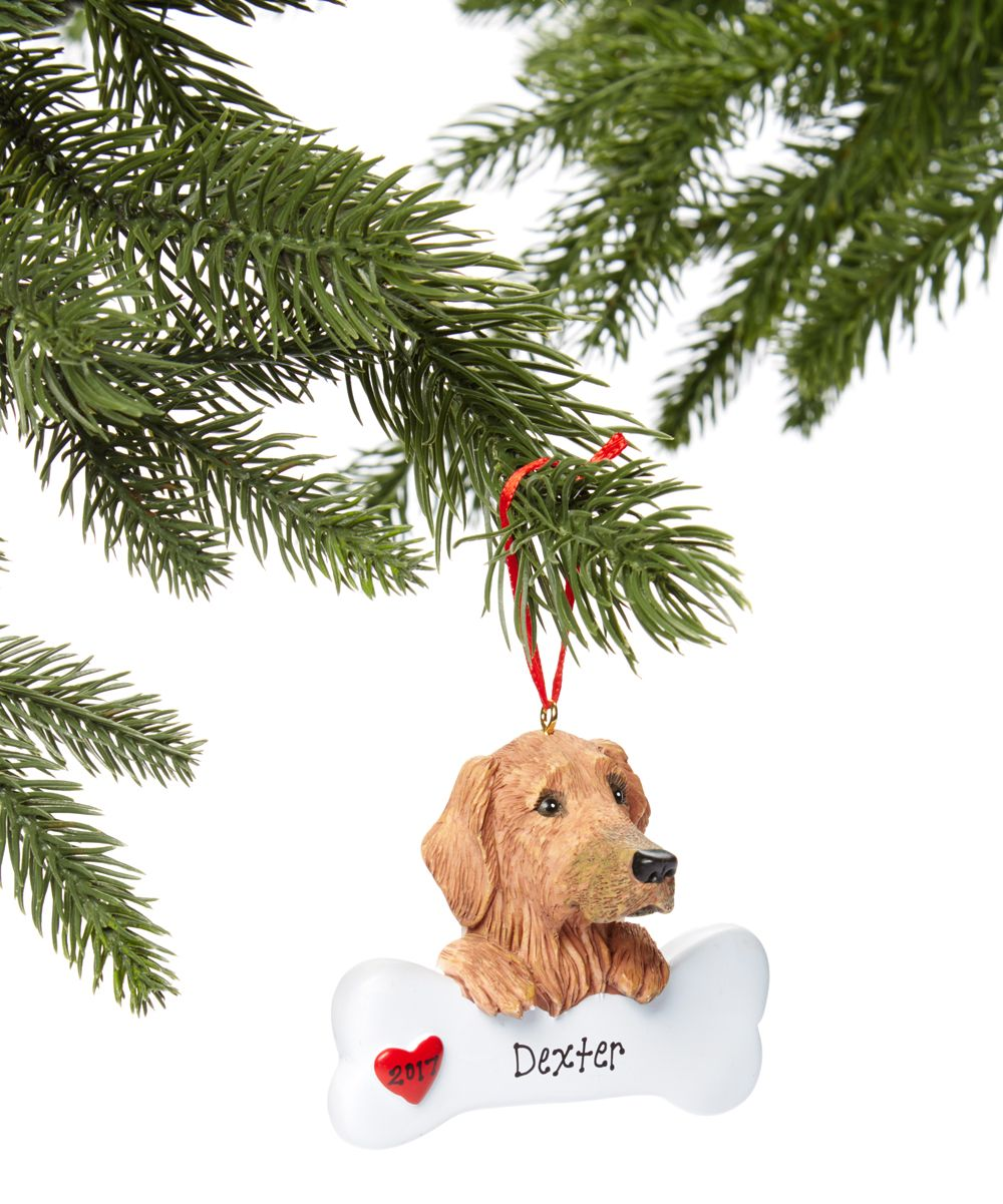 Golden Retriever Personalized Ornament Products Personalized